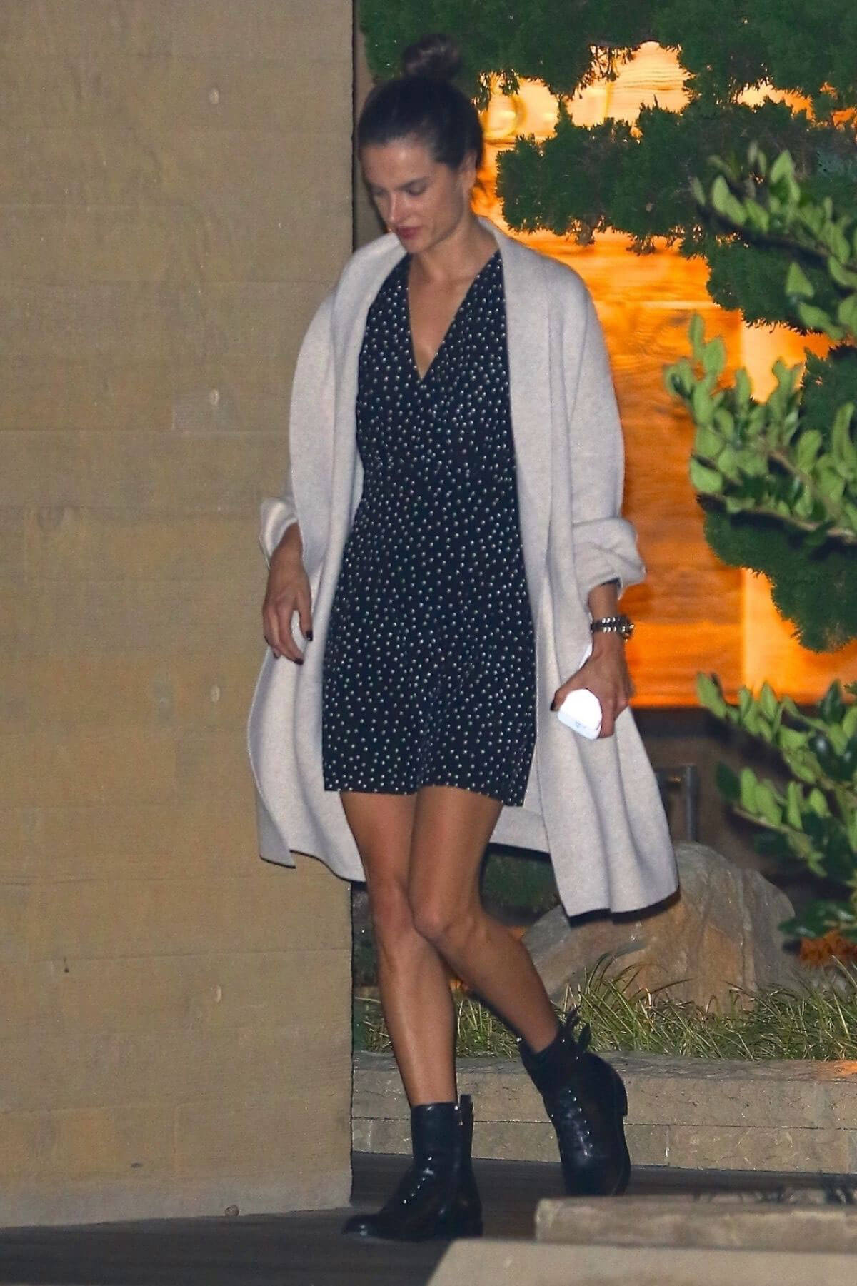 Alessandra Ambrosio Stills Leaves a Dinner in Malibu Images