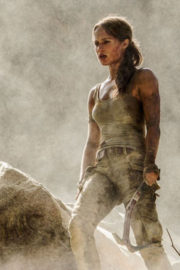 Alicia Vikander Stills at Tomb Raider, 2018 Movie Poster and Promo Pictures