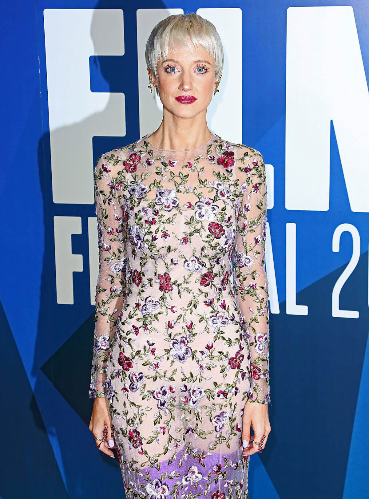 Andrea Riseborough Stills at 61st BFI London Film Festival Awards in London