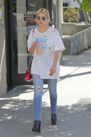 Ashley Benson Stills Out for Lunch in Beverly Hills