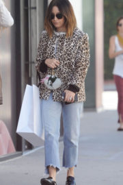 Ashley Tisdale Stills Shopping at Revolve Store in West Hollywood