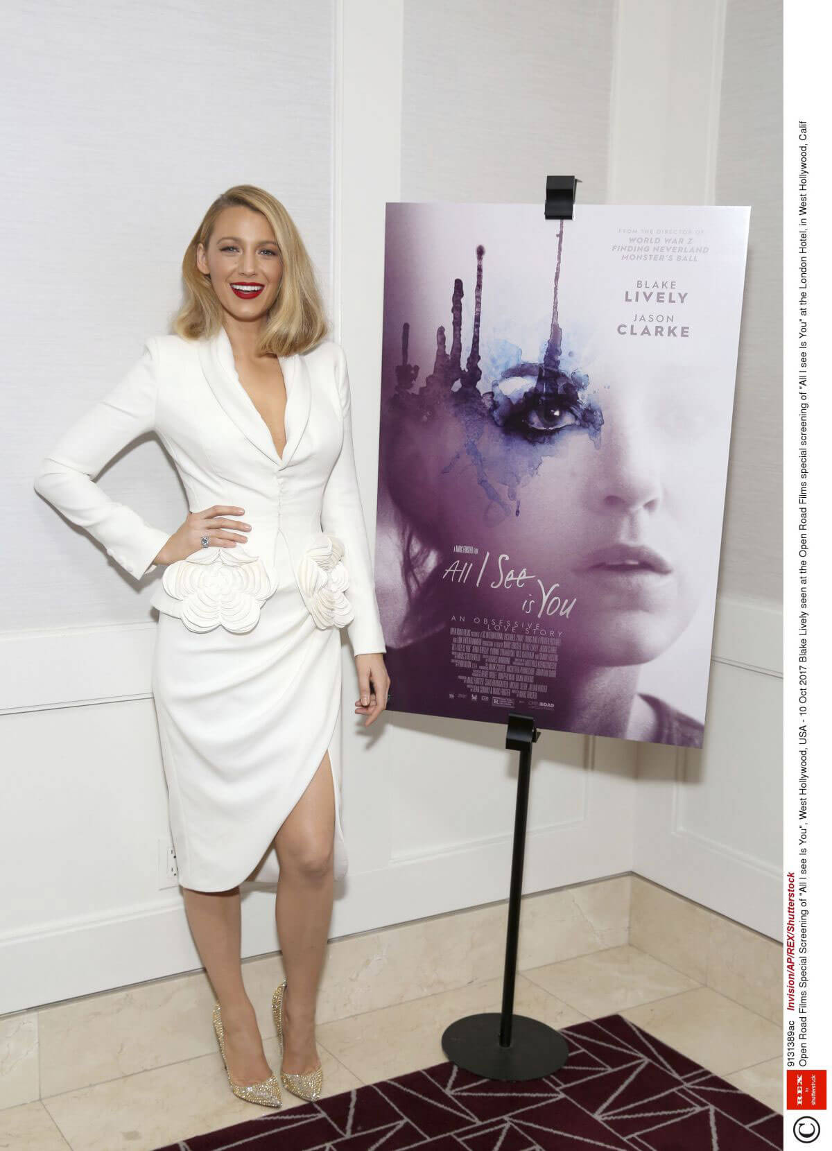 Blake Lively Stills at All I See Is You Special Screening in West Hollywood