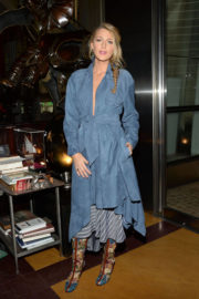 Blake Lively Stills Leaves All I See Is You Special Event in New York