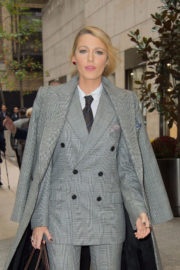 Blake Lively Stills Out and About in New York Images
