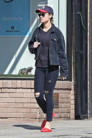Brie Larson Stills Out for Lunch at Cheebo in West Hollywood