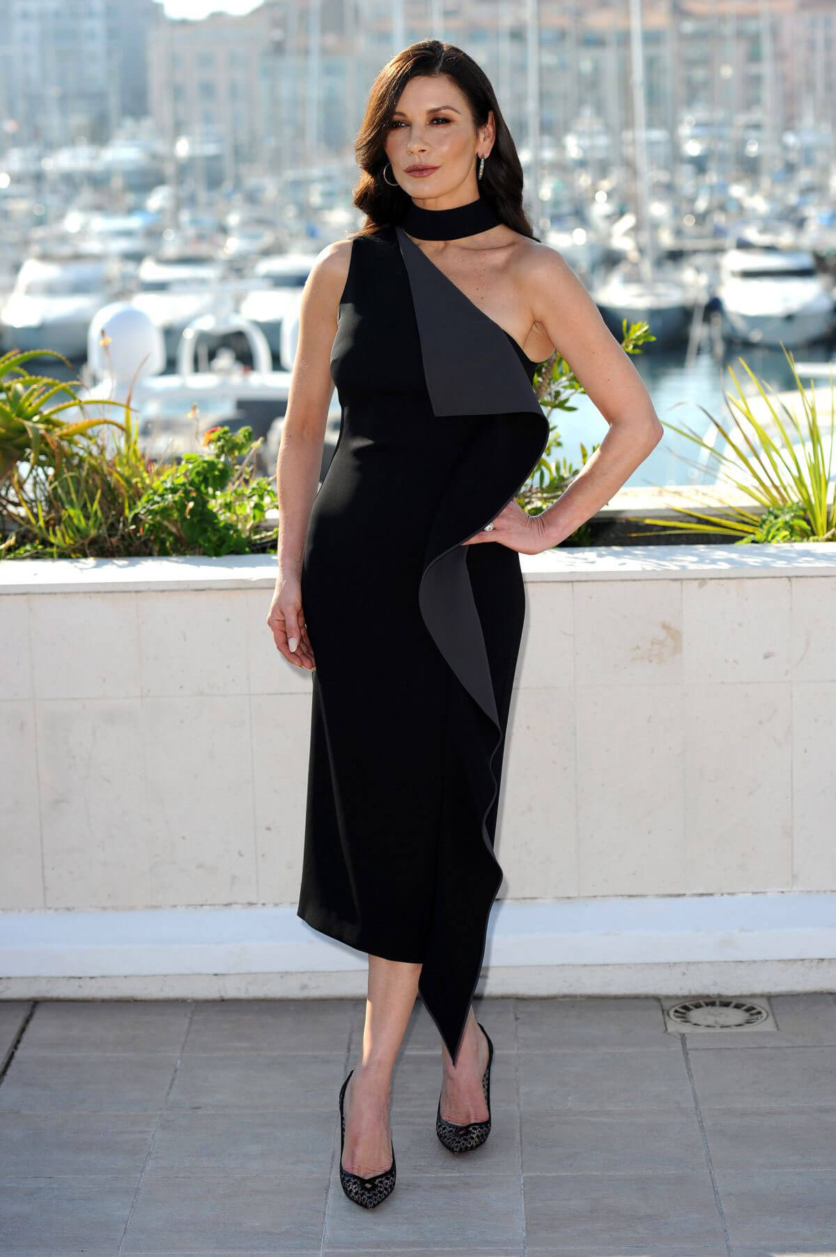 Catherine Zeta-Jones Stills at Cocaine Godmother Photocall at Mipcom in Cannes