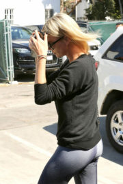 Charlize Theron Stills Leaves Nine Zero One Salon in West Hollywood
