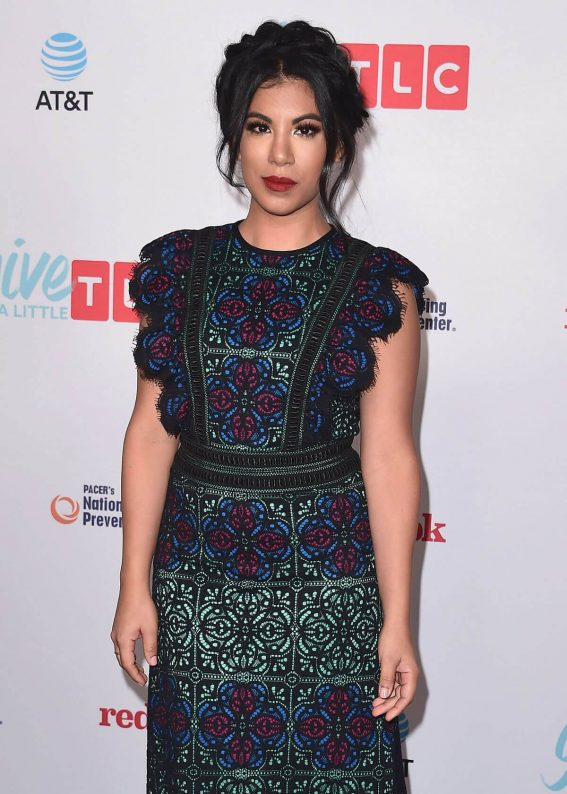 Chrissie Fit Stills at TLC's Give a Little Awards in Hollywood