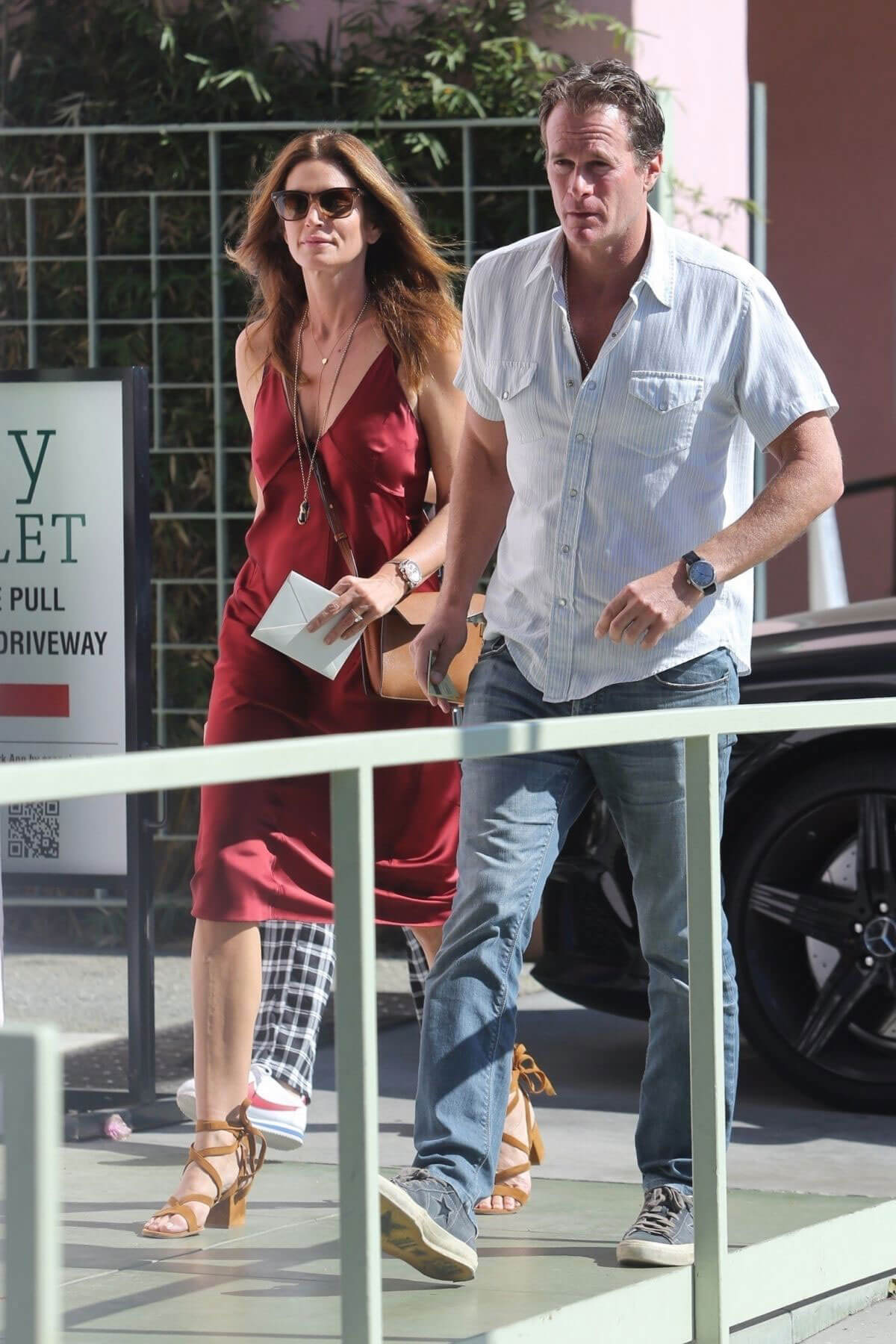 Cindy Crawford and Kaia Gerber Stills Out in Santa Monica