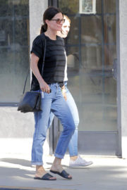 Courteney Cox Stills Out Shopping in West Hollywood