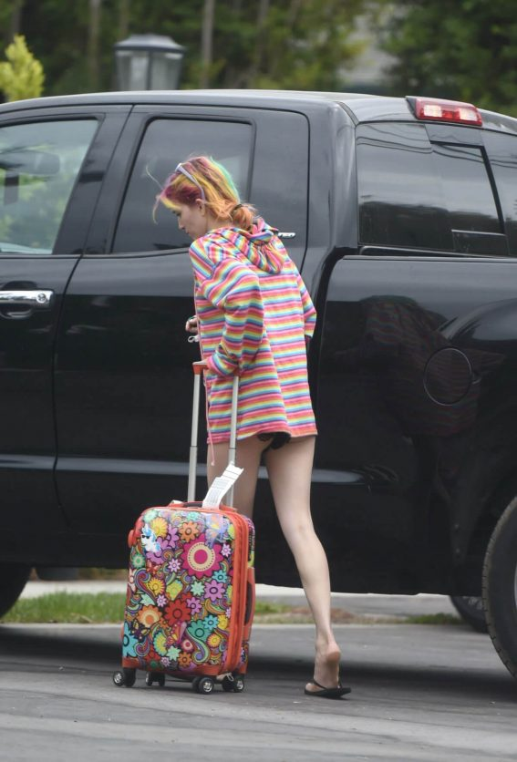 Dani Thorne Out in Los Angeles