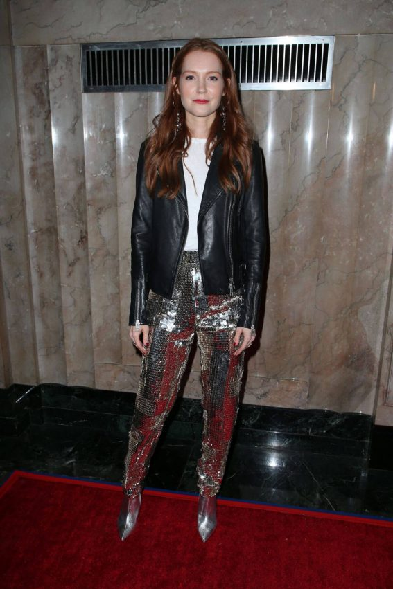 Darby Stanchfield Stills at Turn Me Loose Play in Los Angeles