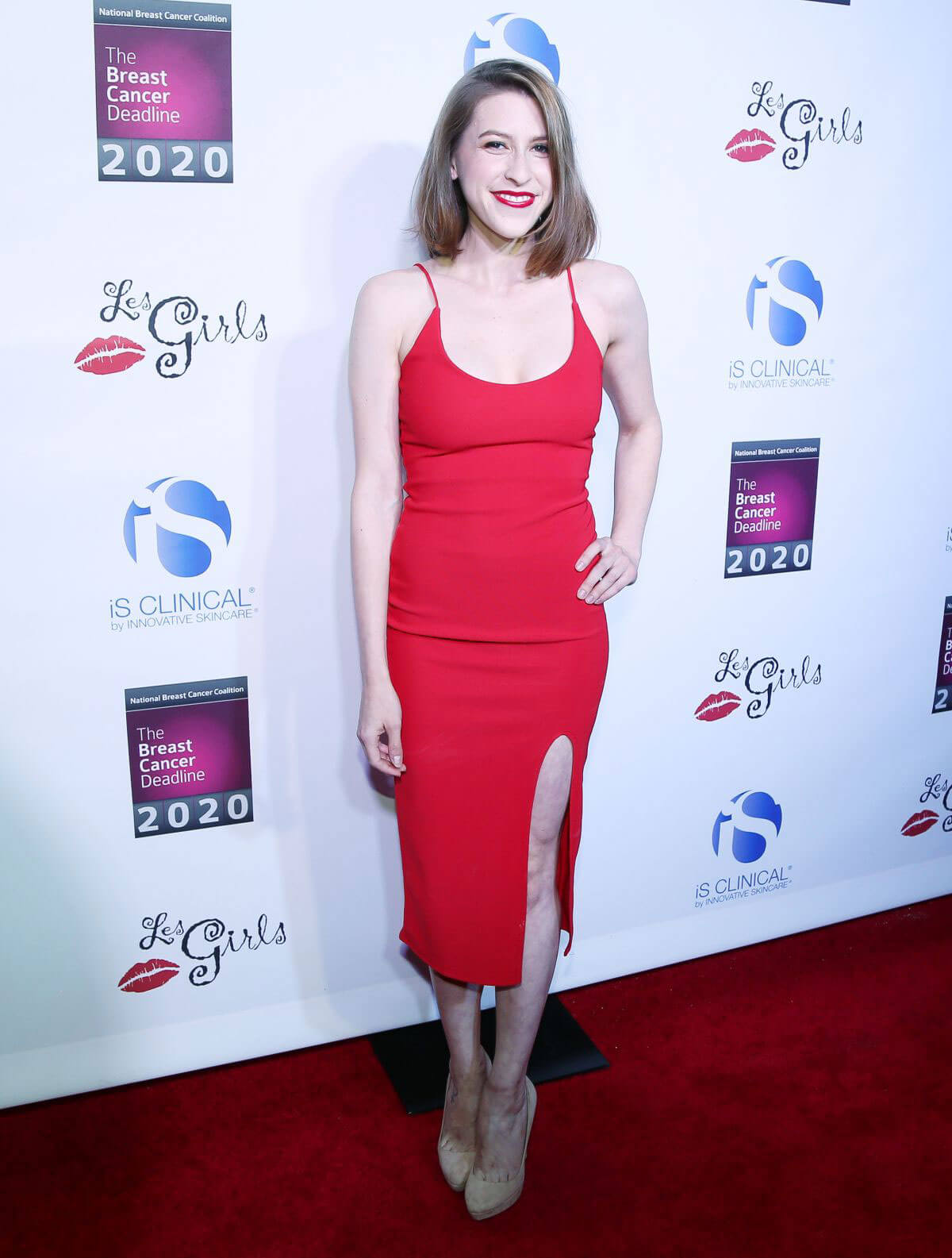 Eden Sher Stills at 17th Annual Les Girls Cabaret in Los Angeles