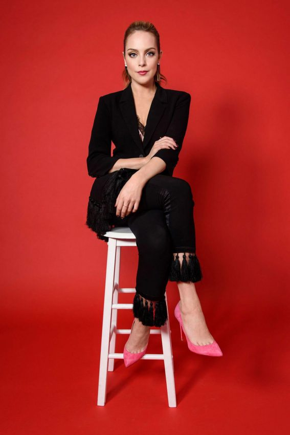 Elizabeth Gillies Poses for Women's Wear Daily, October 2017