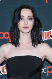 Emma Dumont Stills at The Gifted Press Line at Comic-con in New York
