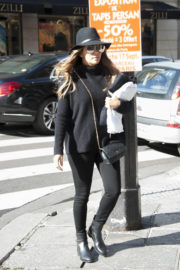 Eva Longoria Out and About in Paris