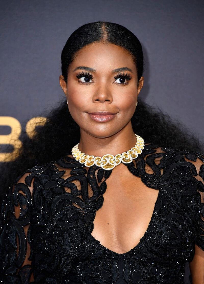 Gabrielle Union at 69th Annual Primetime EMMY Awards in Los Angeles