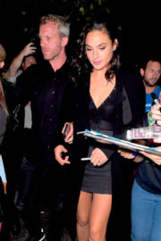 Gal Gadot Stills Arrives at Saturday Night Live After-party in Los Angeles