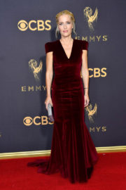 Gillian Anderson at 69th Annual Primetime EMMY Awards in Los Angeles