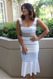Gina Rodriguez Stills at Jane the Virgin Press Conference in Beverly Hills