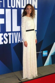 Gloria Huwiler Stills at 61st BFI London Film Festival Awards in London
