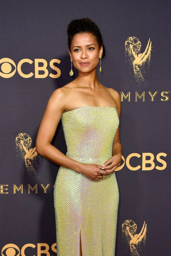 Gugu Mbatha-Raw at 69th Annual Primetime EMMY Awards in Los Angeles
