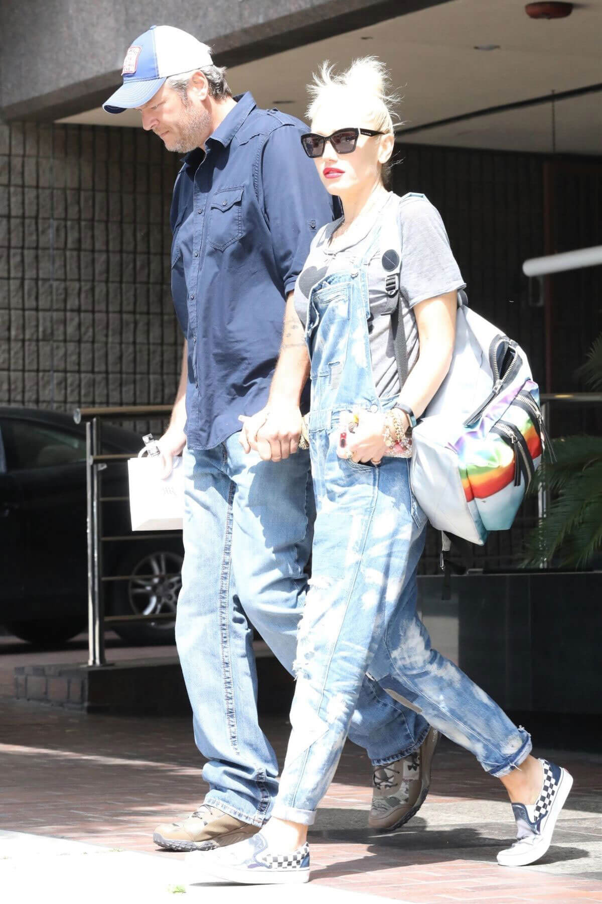 Gwen Stefani Out and About in Beverly Hills
