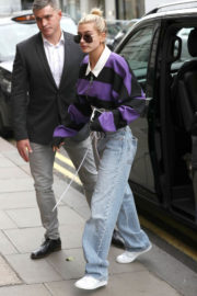 Hailey Baldwin Out and About in London