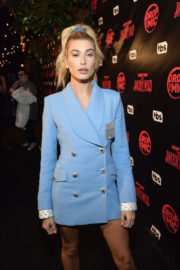 Hailey Baldwin Stills at TBS' Drop the Mic and the Joker's Wild Premiere Party in Hollywood