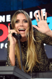 Heidi Klum Stills at One Coice: Somos Live! a Concert for Disaster Relief in Los Angeles