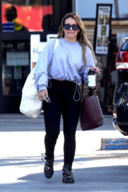 Hilary Duff Shopping at Ralph's in Studio City