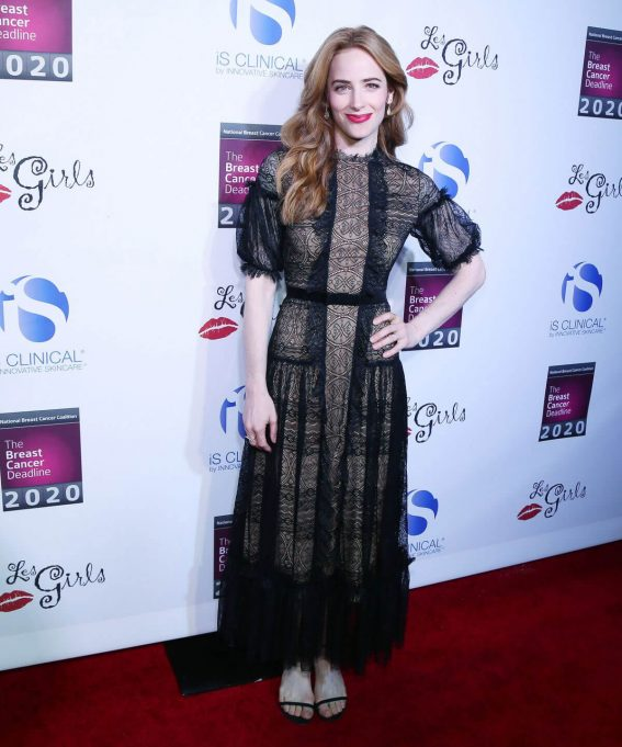Jaime Ray Newman Stills at 17th Annual Les Girls Cabaret in Los Angeles