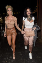 Jemma Lucy and Charlie Doherty Stills Night Out in Manchester