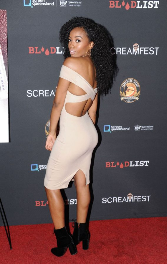 Joi Liaye Stills at Dead Ant Premiere in Los Angeles