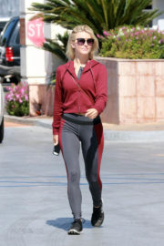 Julianne Hough Stills Out for Lunch at Tender Greens in Burbank