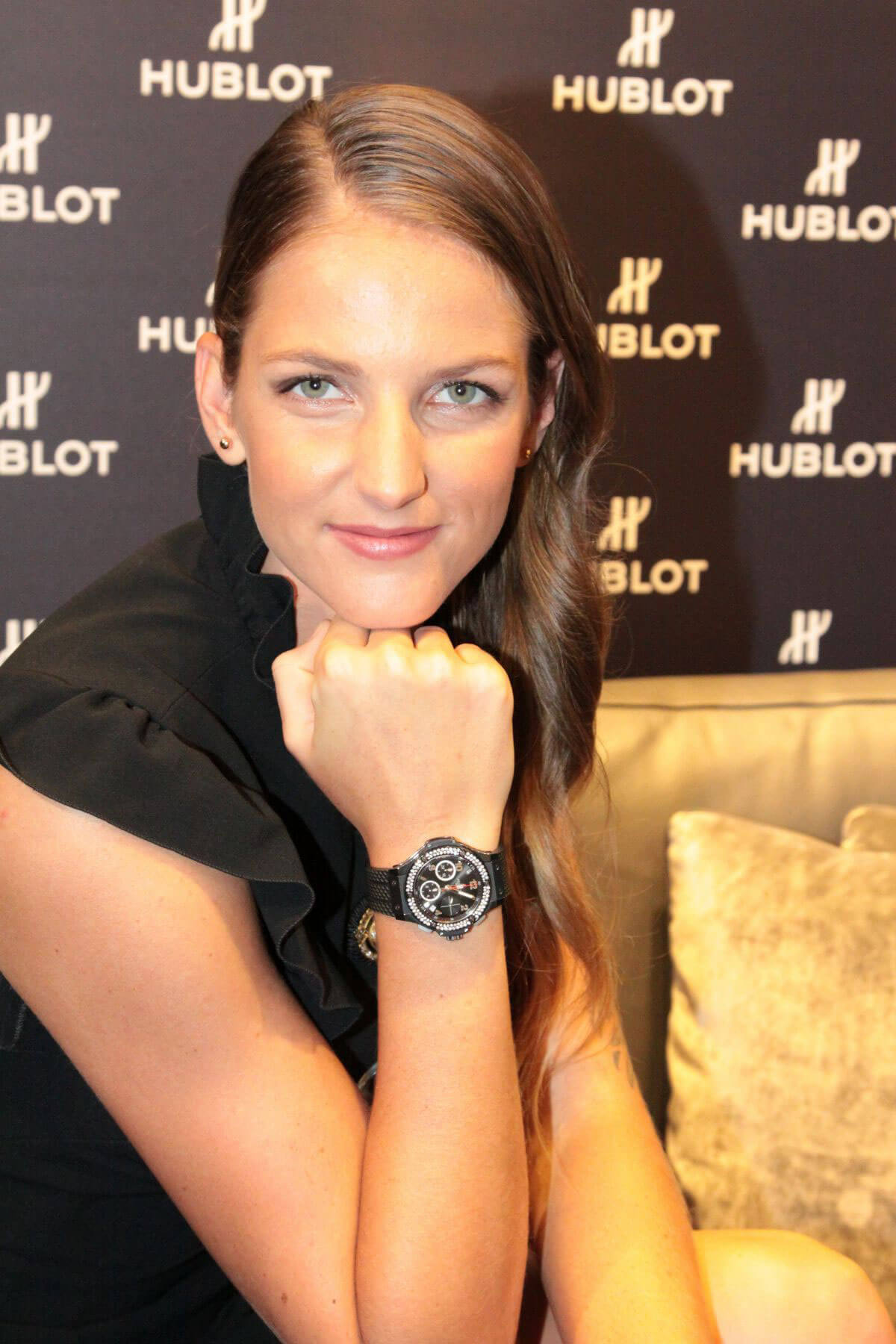 Karolina Pliskova Stills At New Hublot Ambassador In