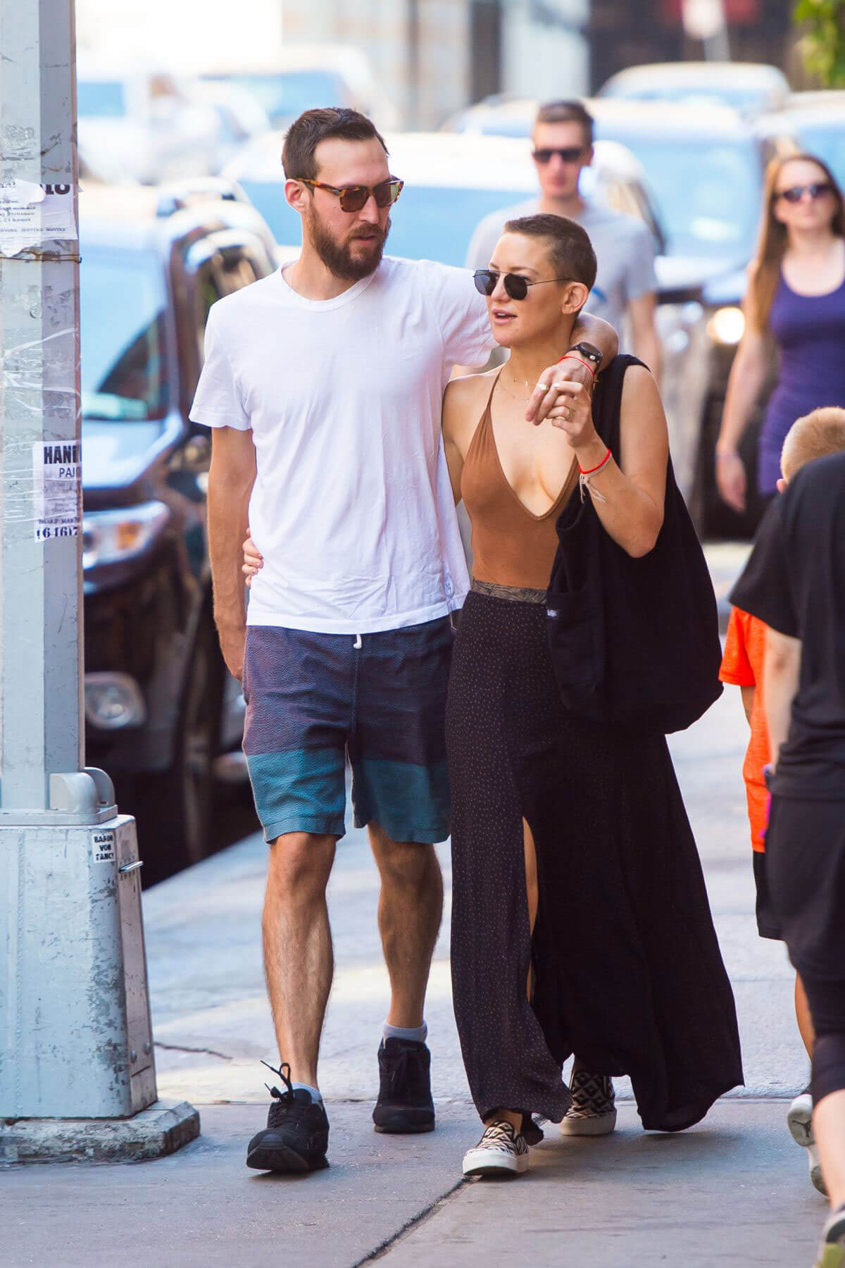 Kate Hudson and Danny Fujikawa Stills Out in New York