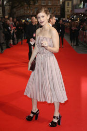 Kate Mara Stills at the Film Stars Don't Die in Liverpool premiere during the 61st BFI London Film Festival