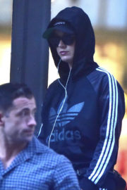Katy Perry Shopping Stills at Adidas Store in New York