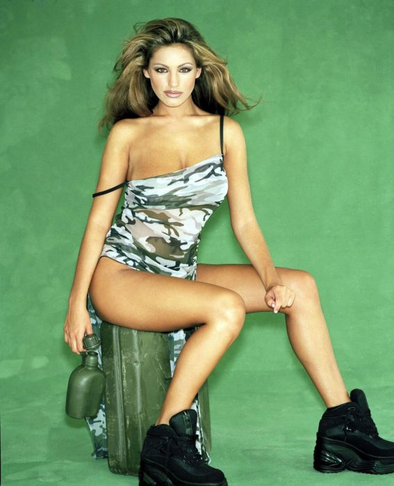 Kelly Brook Poses for FHM Magazine, 1999 Photos