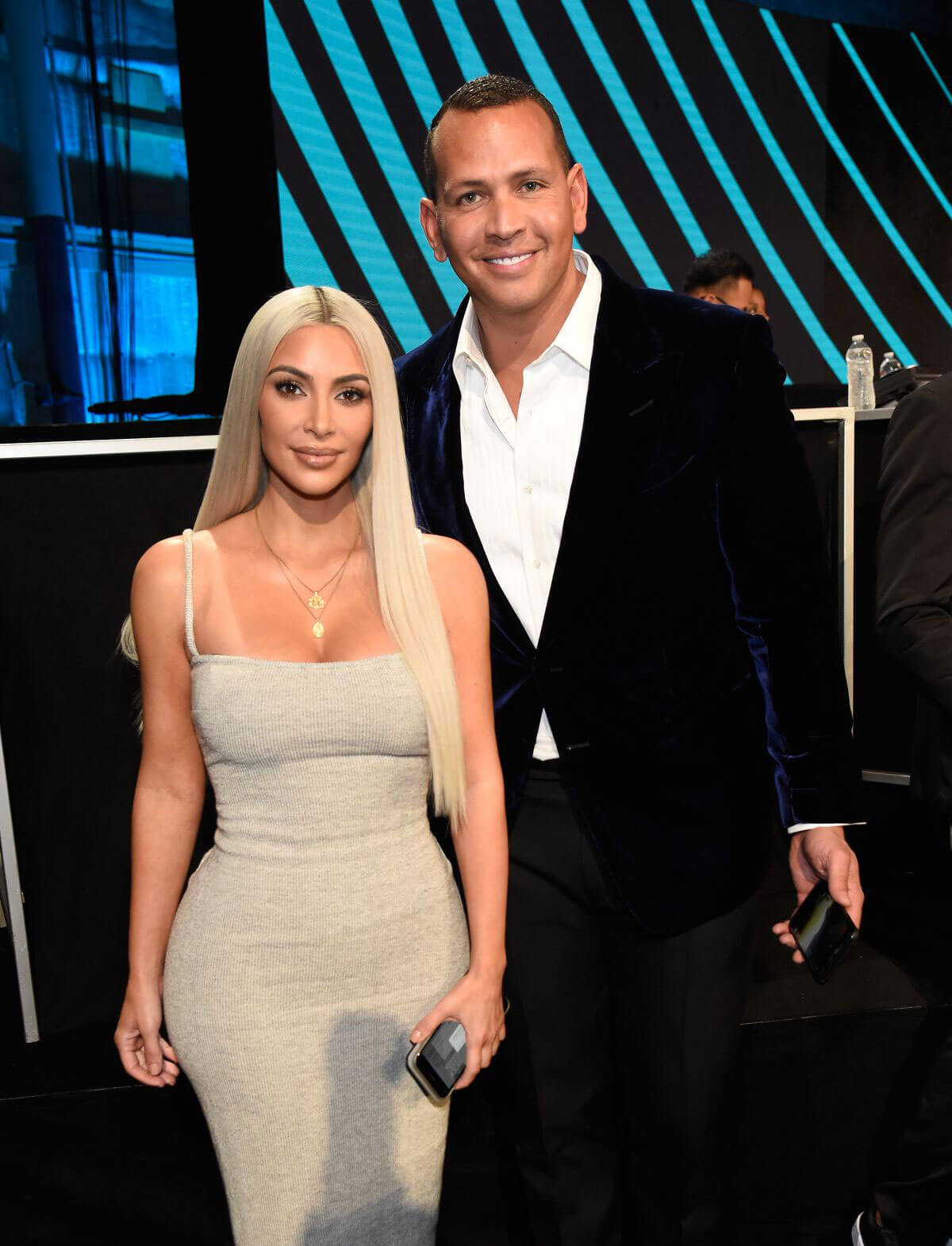 Kim Kardashian Stills at One Voice: Somos Live! A Concert for Disaster Relief in Los Angeles