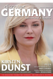 Kirsten Dunst Poses in Discover Germany Magazine, October 2017