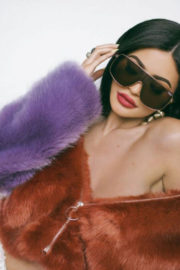 Kylie Jenner Poses for Quay x Kylie Drop Two, 2017