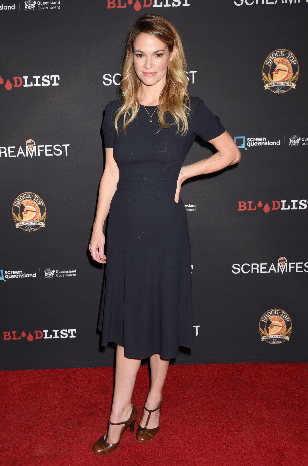 Leisha Hailey Stills at Dead Ant Premiere in Los Angeles