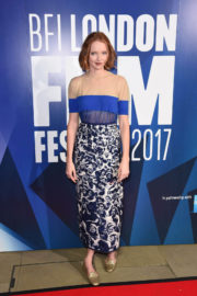 Lily Cole Stills at 61st BFI London Film Festival Awards in London
