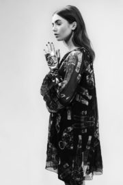Lily Collins Poses for Chanel Magazine 2017 Photos