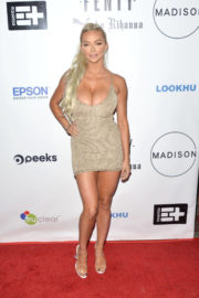 Lindsey Pelas Stills at Fenty Puma A/W17 Collection Launch in Los Angeles
