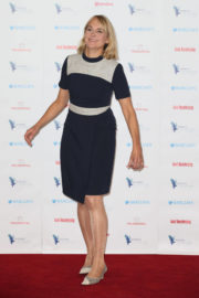 Louise Minchin Stills at Women of the Year Lunch in London