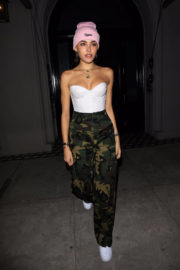 Madison Beer Stills Leaves Her Apartment in Los Angeles