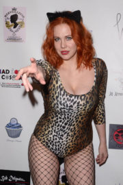 Maitland Ward Stills at Halloween Hotness 4: Heating Up for the Cure in Hollywood